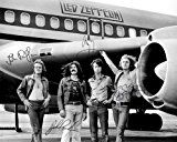 Get This Special Offer #9: Led Zeppelin early band signed reprint photo All 4 Jimmy Page