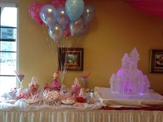 princess candy bar/ candy buffet/ candy table