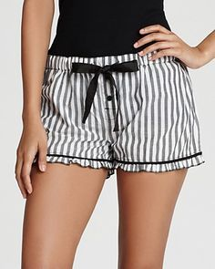 PJ Salvage Stay The Night Shorts - Womens - Bloomingdales Luxury Lingerie, Women Lingerie, Lingerie Sleepwear, Nightwear, Cozy Pajamas, Pyjamas, Pijamas Women, Cute Pjs, Mein Style