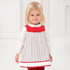 Cotton Baby Girl Dress | Dave Bella Kids Clothes