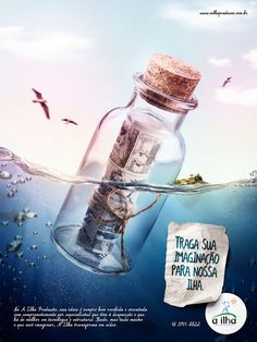 Anúncio uma página Revista para a A Ilha Produtora de Video.Direção de Arte e Manipulação de Imagem: Leonardo Moura LeiteRedação: Gustavo Fiali
