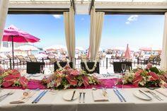 Your perfect pink wedding with breathtaking views of Waikiki Beach. Beach Resorts, Luxury Collection Hotels, Wedding Planning, Wedding Ideas, Beach Color, Girls Getaway, Waikiki Beach, Perfect Pink