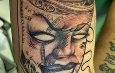 dollar sign tattoo designs