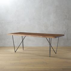 "Shop dylan 36""x80""dining table.   This beauty's all about the living grain of gorgeous eco wood slab planks."