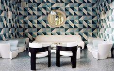 Decofilia Blog | Ideas para pintar las paredes con motivos geométricos