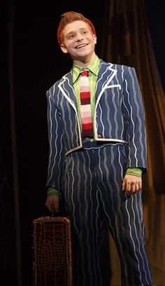 Lee Slobotkin as Boq in the Munchkinland Tour of Wicked. I just saw this company today in Bosie, Idaho and LOVED IT!!!<3