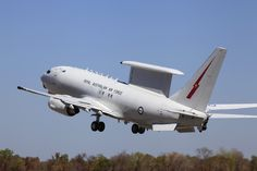 An E-7A Wedgetail from No.2 Squadron takes off for a mission at RAAF Base Tindal as part of Exercise Pitch Black 2014.  CPL David Gibbs Copyright © Commonwealth of Australia, Department of Defence