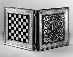 Chess and Tric-Trac Board, Spanish 16th c