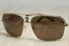 NEW AUTHENTIC CHROME HEARTS KUFANNAW I Gold Sweatband GPWS Glasses Eyewear Sunglasses Shade NEW