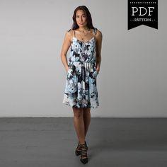Sewaholic Patterns - Saltspring Dress PDF Pattern, $11.98 (http://www.sewaholicpatterns.com/saltspring-dress-pdf-sewing-pattern/)