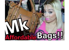 $40Michael Kors Bags!! & GiveAway!! I soo want the black one damn!
