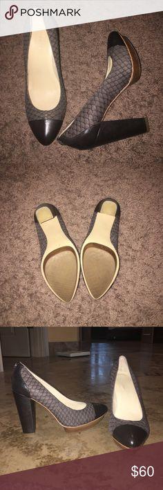 Calvin Klein Heels Worn once Calvin Klein heels. Perfect condition. Very comfy! Calvin Klein Shoes Heels