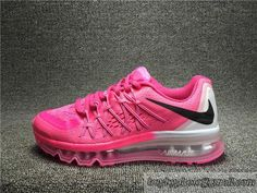 purchase cheap 69708 9811e Women s Nike 2015 Air Max Authentic Running Shoes Air Max 2015 Shoes 705458  600