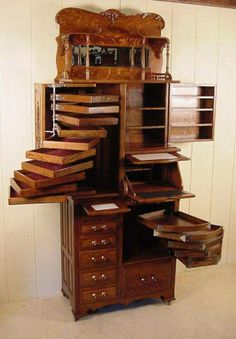 Wow, can you imagine all that you could store in this dental cabinet?