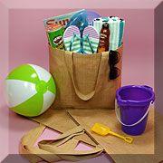 Beach Bag Shopper. $5.60. Destination wedding welcome gift bag/multiuse