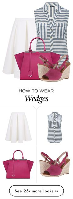 """""""Kate Spade wedges"""" by lbite1 on Polyvore"""