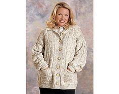 Box Stitch Cardigan Knit