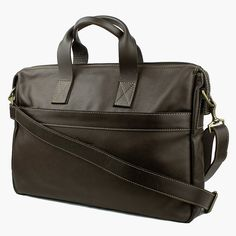 A stylish laptop travel bag in chocolate brown leather to complement your fast-moving lifestyle. Men's Collection, Chocolate Brown, Briefcase, Laptop Bag, Summer 2016, Travel Bags, Gym Bag, Brown Leather, Lifestyle