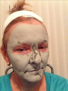Marine Glacial mud mask draws out impurities. Want to try?