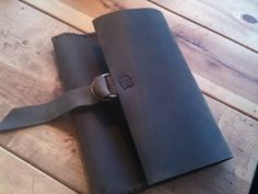 Leather Ipad case cover envelope hand par LUSCIOUSLEATHERNYC, $109,00