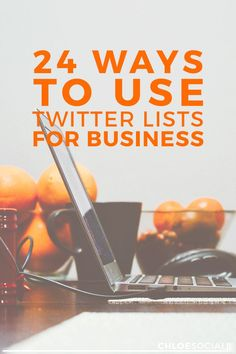24 Ways to Use Twitter Lists for Business | Using Twitter Lists for your business and blog is an absolute must! Check out this article on using them as a blogger!
