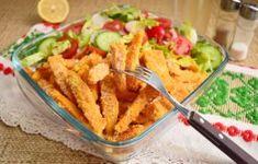 Cartofi dulci în crustă de muștar cu pesmet Guacamole, Bacon, Cheesecake, Pizza, Meat, Chicken, Ethnic Recipes, Food, Cheesecakes