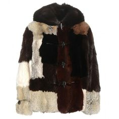 Tom Ford Fur Jacket (€16.560) ❤ liked on Polyvore featuring outerwear, jackets, brown, fur jacket, multi color jacket, tom ford jacket, tom ford and black jacket