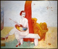 self-portrait-with-palette-painter-and-faun.jpg (500×420)