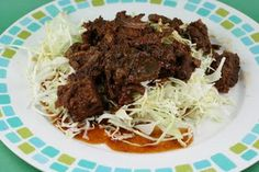 Asian shredded beef with  cabbage...too much sugar for phase 1 but still low cal