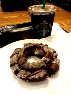sweets 44 starbucks chocolate donuts