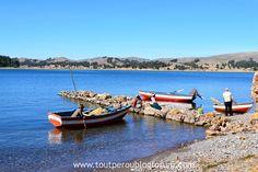 Lac Titicaca, Pérou Lac Titicaca, Boat, Landscape, Dinghy, Boats, Ship