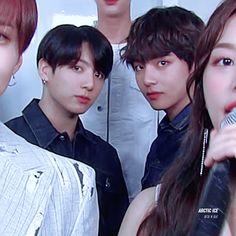 Their stares are so intense wtf Bts Taehyung, Bts Bangtan Boy, Bts Jungkook, Taekook, John Legend, Yoonmin, K Pop, Bts Maknae Line, Bts Boys
