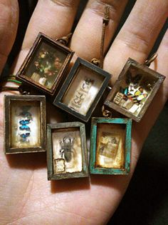 Trays for Dollhouse miniature Accessories for dolls - buy or order in an online shop on Livemaster Miniature Rooms, Miniature Crafts, Miniature Houses, Shadow Box Kunst, Shadow Box Art, Haunted Dollhouse, Dollhouse Miniatures, Dollhouse Ideas, Dollhouse Dolls