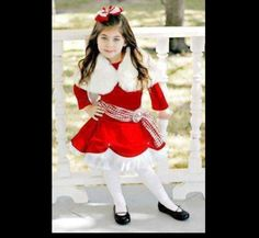 Greggy Girl Miracle on 34th Street Outfit-Pageant-Holiday Size 4 | eBay