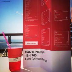 Pantone cafe menu