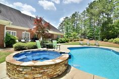 Dive into this Midland, GA pool  - the water's fine this time of year!