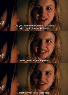 """""""That's what love feels like."""""""