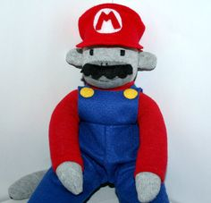 Mario the Sock Monkey