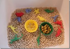 Sensory Trays: Why, How, and Where....lots of examples of trays!