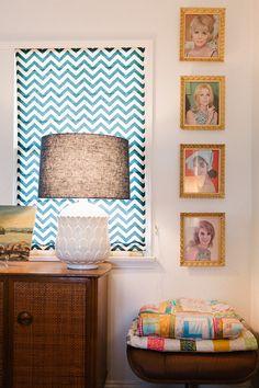 Sneak Peek: Raya Carlisle on Design Sponge Carlisle, Love Home, My Dream Home, Interior Inspiration, Design Inspiration, Curtain Inspiration, Chevron Curtains, Interior And Exterior, Interior Design