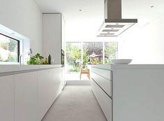 modern kitchen 6 Minimal Super Stylish White Kitchen : Bulthaup B1