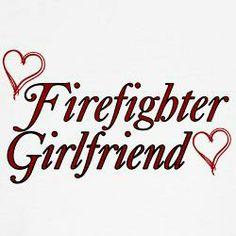 firefighter girlfriend more firefighter Firefighter Boyfriend, Firefighter Family, Firefighter Paramedic, Firefighter Quotes, Firefighters Girlfriend, Firemen, Firefighter Stickers, Fire Crafts, Silhouette Vinyl