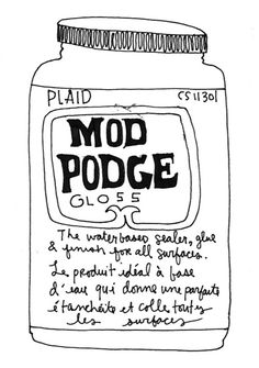 """Mod Podge formula guide"" and which is good for what and why. -- Perfect accompaniment to this visual of how the finishes appear on paper: http://pinterest.com/pin/175218241724247868/"