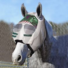 every horse and pony should have a Funny Fly Mask