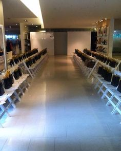 Active Fashion Show Division created this classic in store runway for our clients. High Fashion, Fashion Show, Fashion Events, Project Runway, Staging, Division, Atlanta, Audio, Lighting