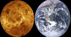 The Planet Venus is the second closest planet to the sun. It is located between our Earth and Mercury. Read about Planet Venus, Magellan and Venera spacecraft. Carl Sagan, Venus Orbit, Metro Montreal, Tectonique Des Plaques, Astronomy Pictures, Universe Today, Cloud City, Our Solar System, Colour Images