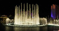 World-Famous Dancing Fountains of Bellagio, Vegas