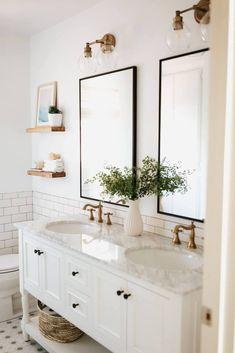 Before & After: Our Kids' Bathroom Design | M Loves M