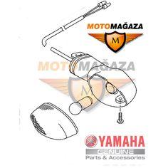 Yamaha Ybr 125 Orjinal Sol Ön Sinyal 18CH33100000
