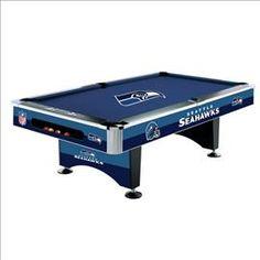 #Seattle #Seahawks Pool Table